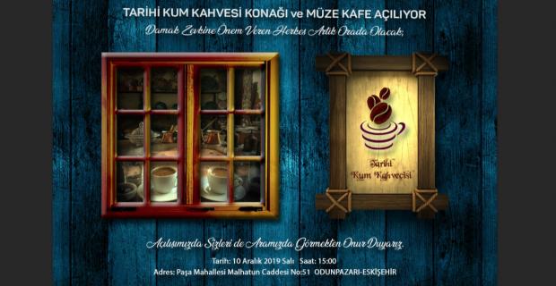 Tarihi Kum Kahvecisi , Kahveci Konağı ile sizlerle buluşuyor..