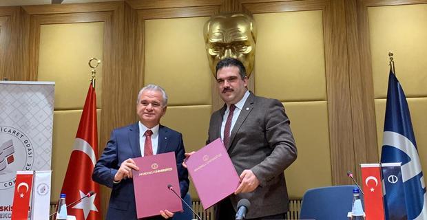 AÜ ile ETO arasında iş birliği protokolü