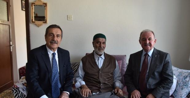 Başkan Ataç'tan geçmiş olsun ziyaretleri