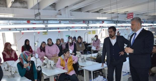 Başkan Biçer, tekstil çalışanlarıyla buluştu