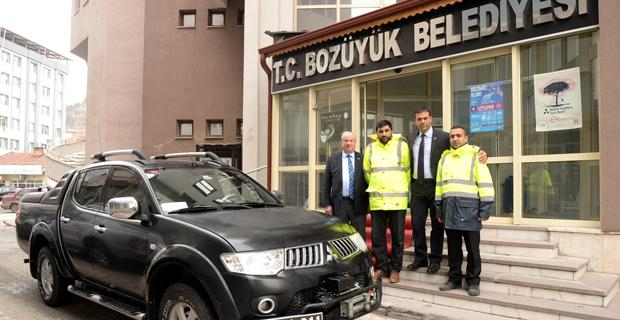Bozüyük Belediyesi depremzedelerin yanında