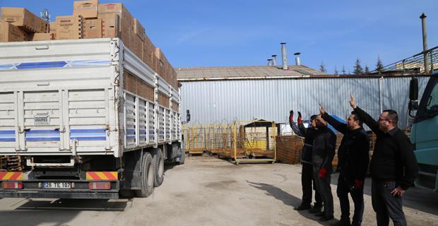 Sanayi Odası ve üyelerinden Elazığ'a destek