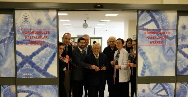Nöromusküler Hastalıkları Merkezi açıldı
