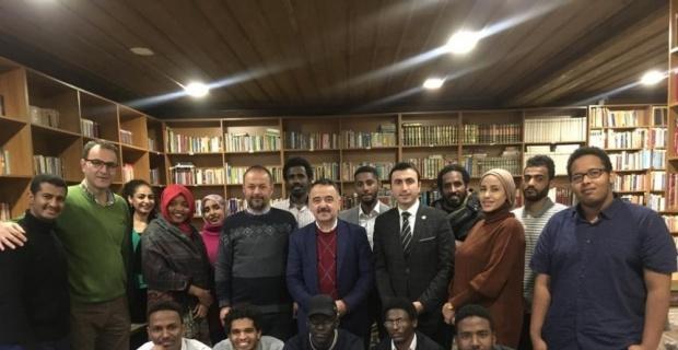 Sudanlı öğrenciler bir araya geldi