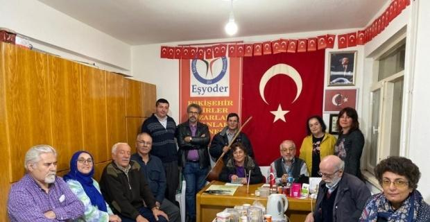 EŞYODER üyeleri yeni yılı şiirler ve türkülerle kutladı