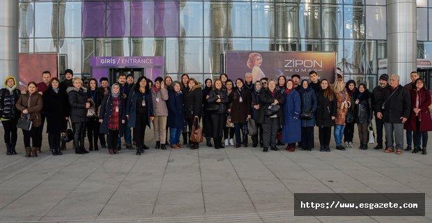 ETO üyeleri İzmir Gelinlik ve damatlık fuarında