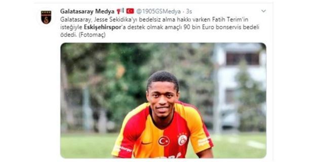 Galatasaray para ödedi haberleri doğru değil
