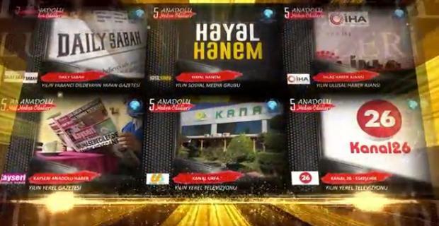 Kanal 26'ya ödül
