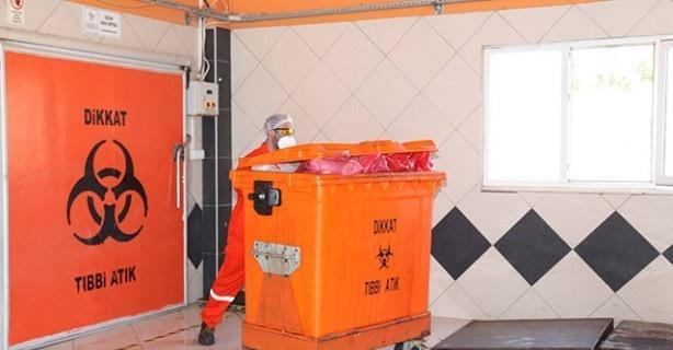 Kütahya'da bir yılda 354 ton tıbbi atık toplandı