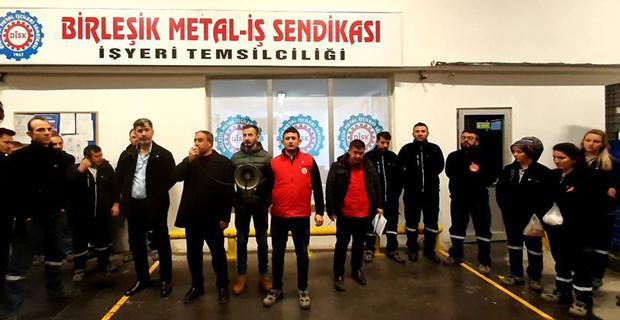 Metal işçileri greve çıkıyor