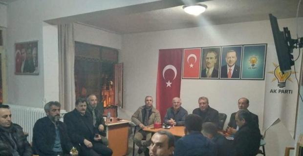 Şaphane AK Parti'de geniş katılımlı toplantı