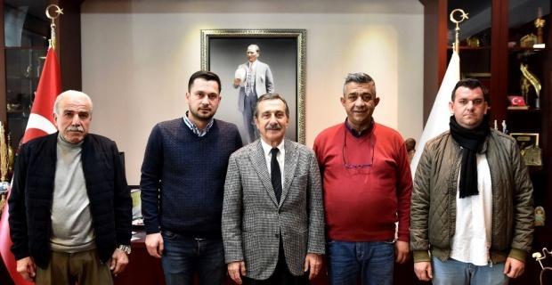 Turizm taşımacılarından Başkan Ataç'a ziyaret