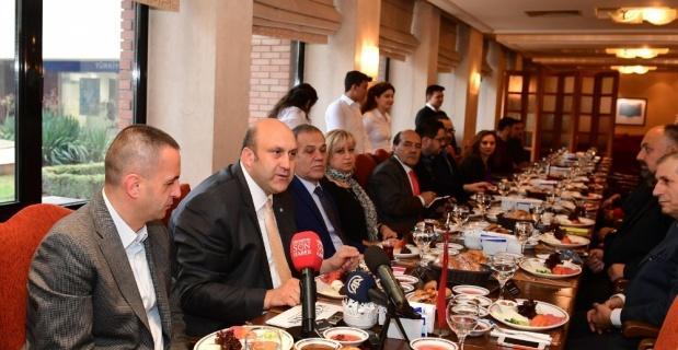 Anadolu basın temsilcilerini ağırladı
