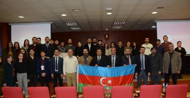 Anadolu Üniversitesi'nde Hocalı Soykırımı anıldı
