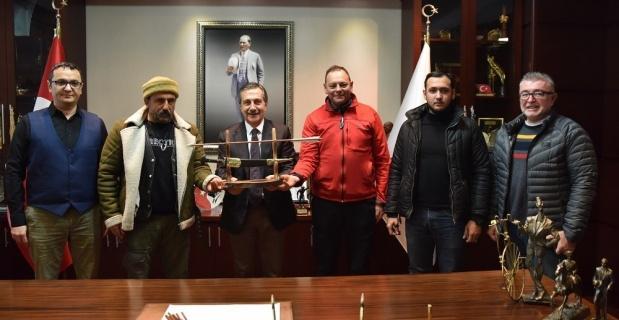 Atlı Okçuluk Kulübü'nden Ataç'a ziyaret