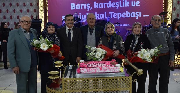 Başkan Ataç deneyimli çiftleri kutladı