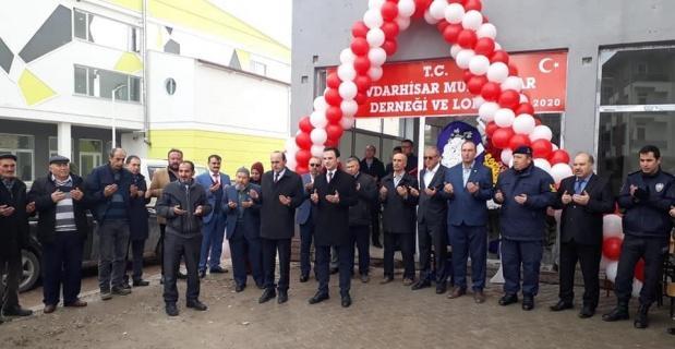 Çavdarhisar'da Muhtarlar Derneği açıldı