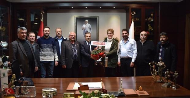 CHP Beylikova yönetiminden Başkan Ataç'a ziyaret