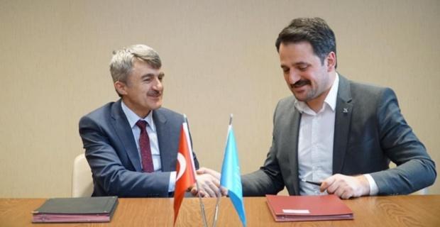 DPÜ ile TÜGVA arasında eğitim iş birliği protokolü