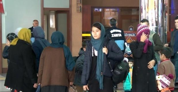 Eskişehir'deki mültecilerin sınıra hareketi devam ediyor