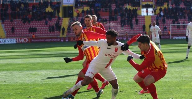 Kayserispor ile Antalyaspor yenişemedi