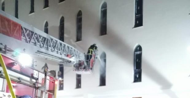 Bekçilerin dikkati yangının büyümesini önledi