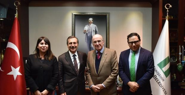 Meksika Büyükelçisi Tepebaşı'na hayran kaldı