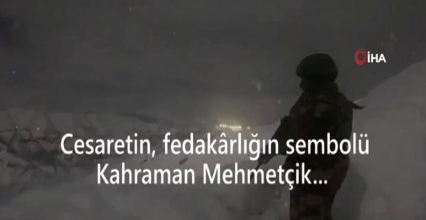 Cesaretin ve fedakarlığın sembolü Mehmetçik