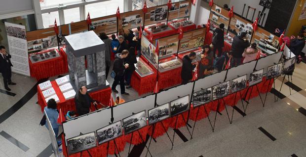 Özdilek'de Çanakkale Müze Sergisi açıldı