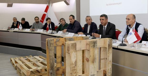 Palet sektöründeki son gelişmeler açıklandı