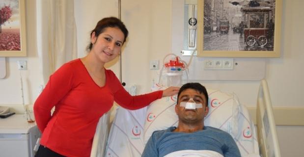 Ses kısıklığı şikayetiyle gitti burnundan tümör çıktı