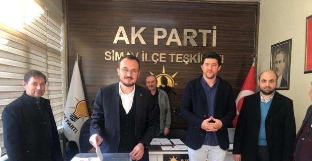 Simav AK Parti'de delege seçimi