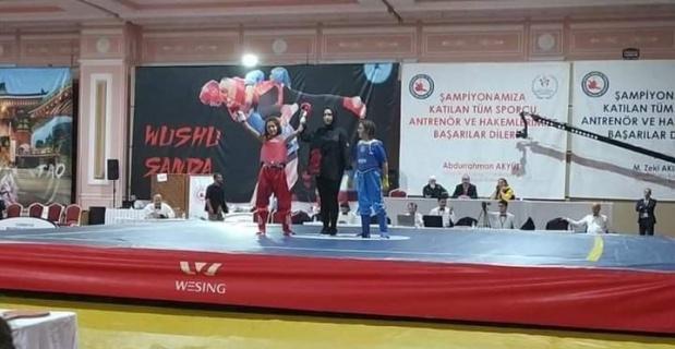 Şuhutlu Ebrar Eroğlu Wushu Kung Fu Türkiye Şampiyonası'nda Türkiye 3.'sü oldu