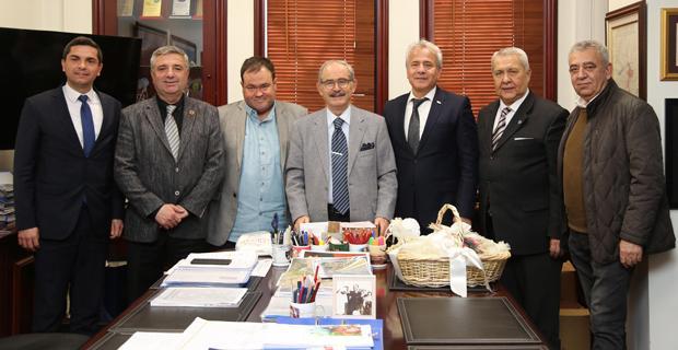Susurluk Belediye Başkanı Güney, Büyükerşen'i ziyaret etti