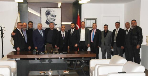 TURKSİD Yönetimi'nden Eskişehispor'a ziyaret