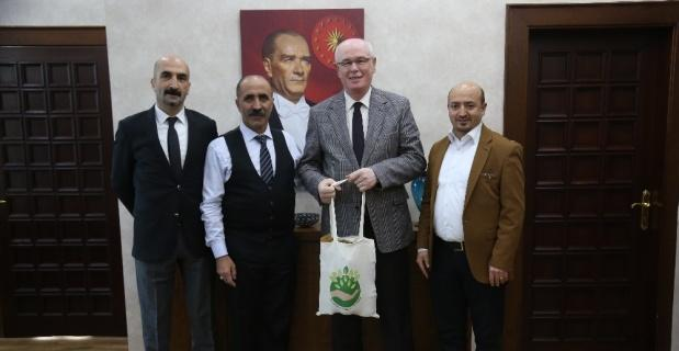 Yıldıztepe İşletme Kooperatifi'nden Başkan Kurt'a ziyaret