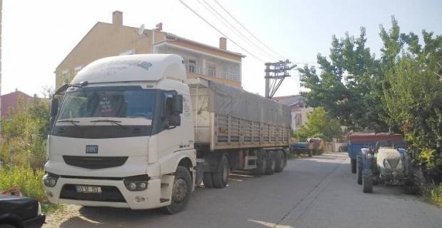 Bilecik'te tır ve ağır tonajlı araçlar için Korona virüs önlemi