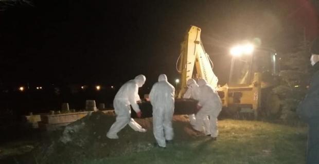 Koronadan ölen gurbetçi Emirdağ'da toprağa verildi