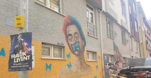 Eskişehir sokakları sanat kokuyor