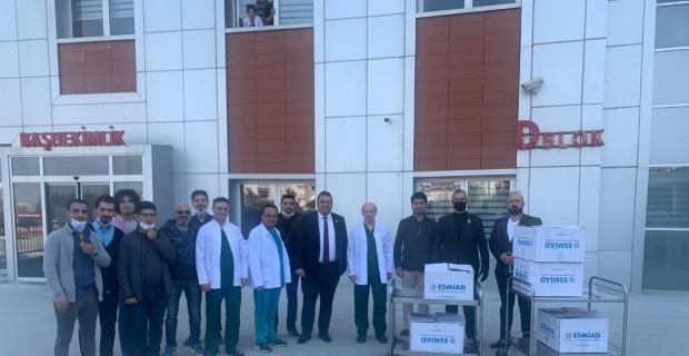 ESMİAD'dan sağlık çalışanlarına destek