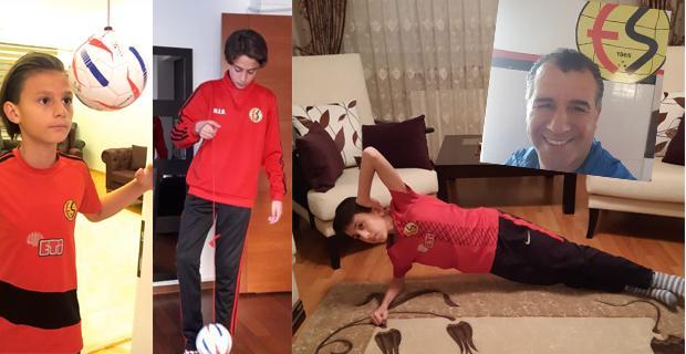 Futbolcularını uzaktan antrenman ile formda tutuyor