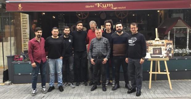 İstanbul Tarihi Kum Kahvecisi'nden Eskişehirspor için destek kampanyası