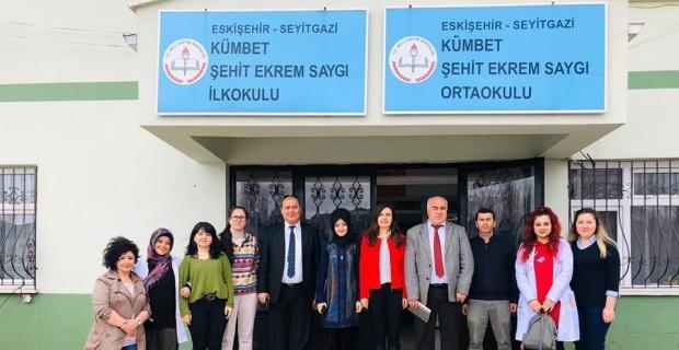 Seyitgazi İlçe Milli Eğitim Müdürü Nazmi Avcı'nın okul ziyaretleri