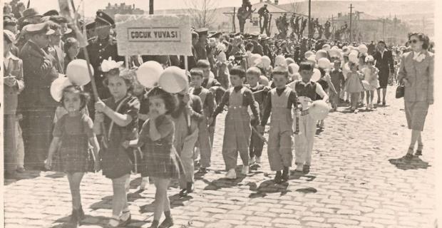Eskişehir'de 23 Nisan 1950'lı yılların başı