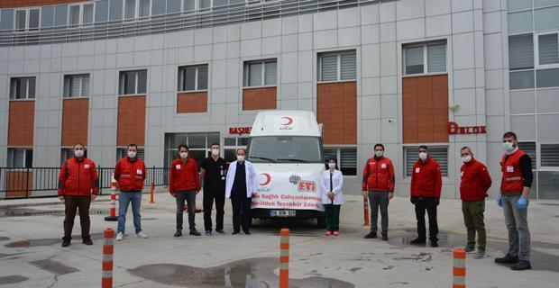 ETİ ve Kızılay işbirliği ile sağlık çalışanlarına destek!