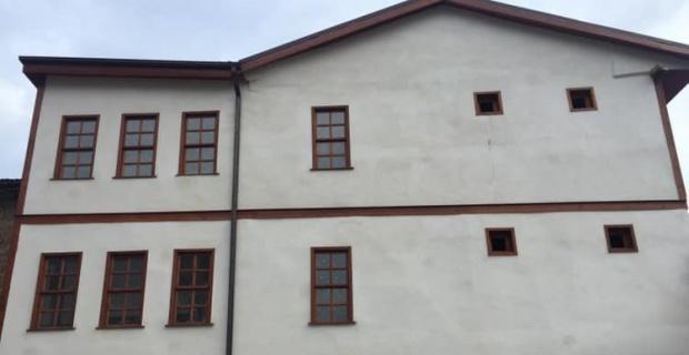 Tarihi konağın restorasyonu tamamlandı