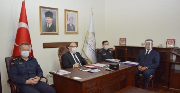 Bakan Soylu'nun başkanlığından Ege Bölgesi Emniyet ve Asayiş Toplantısı yapıldı