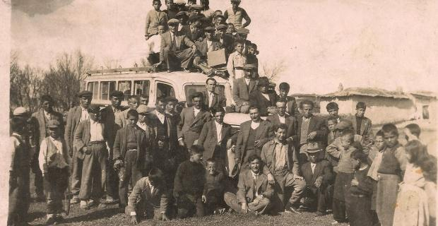 Eskişehir-Sivrihisar seferi yapan Sivrihisar'ın ilk otobüsü