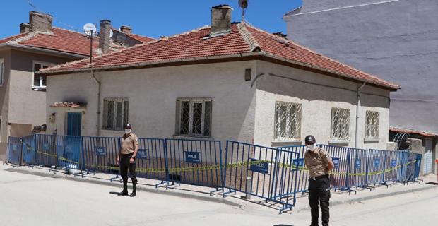Eskişehir'de bir ev karantinaya alındı