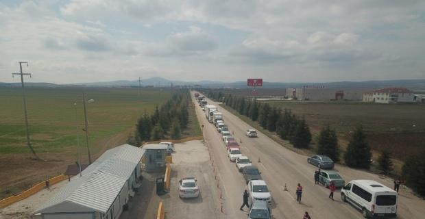 Eskişehir'e de giriş çıkış yasağı uzatıldı